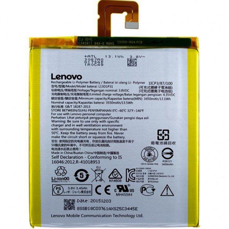 باتری اصلی تبلت لنوو (A7-30HC (L13D1P31