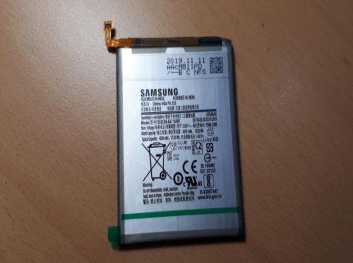 باتری اصلی سامسونگ گلکسی (A71(EB-BA715ABY