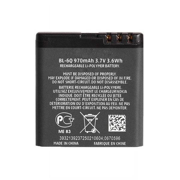 باتری اصلی نوکیا 6700 کلاسیک (BL-6Q )
