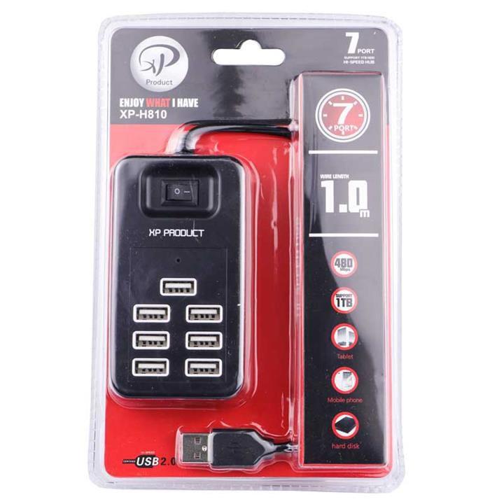 هاب USB هفت پورت ایکس پی پروداکت مدل XP-H810