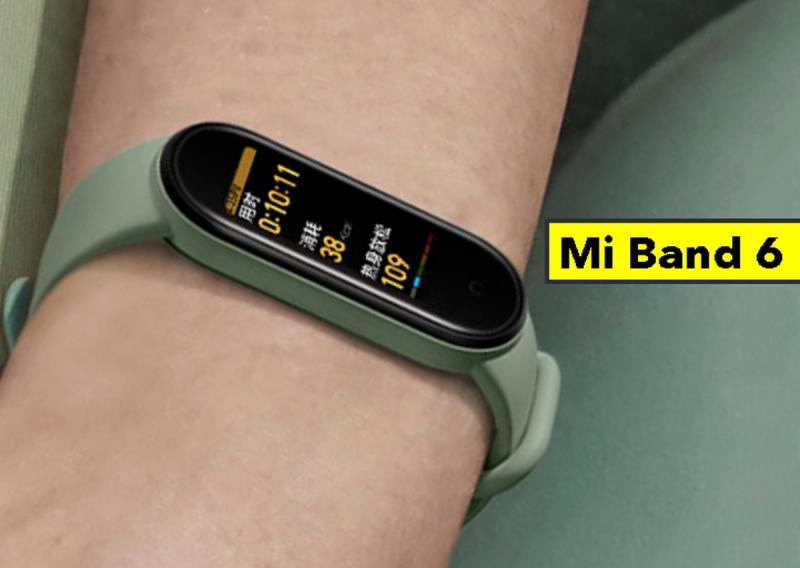 ساعت مچ بند هوشمند شیائومی مدل Mi Band 6 Global Version