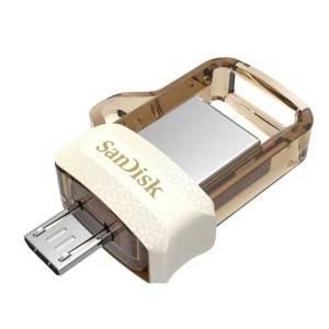 Flash memory sandisk dual Drive M3.0  , USB 3.0 16G