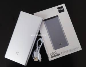 ORIGINAL POWER BANK ITRY 10000MA MODEL PLM12ZM
