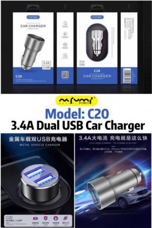 nafumi c20  original car charger