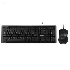 SCO TKM 8050 Keyboard and Mouse With Persian Letters