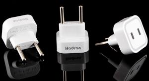 Hadron HTH-A08  2*2 Surge Protector and Adaptor