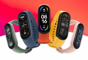 xiaomi Wristband model Mi Band 6 Global Version